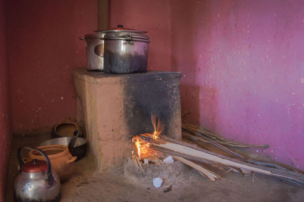 Peruvian village kitchen