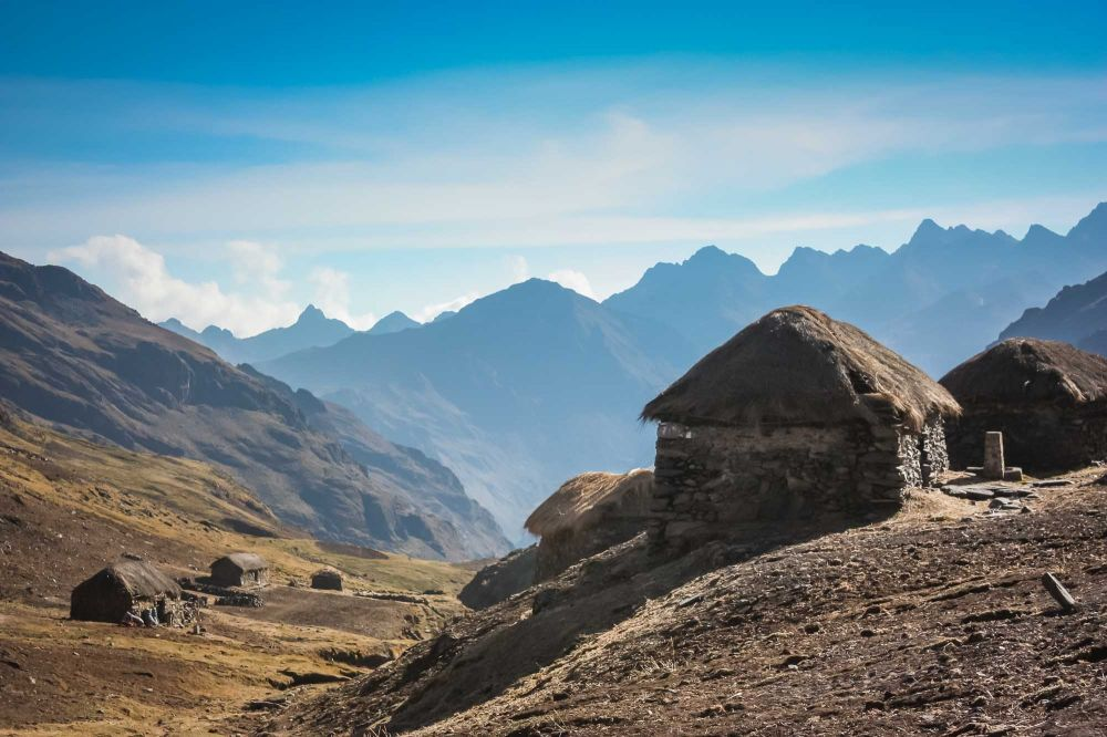 Typical high-Andean dwellings and their million-dollar view
