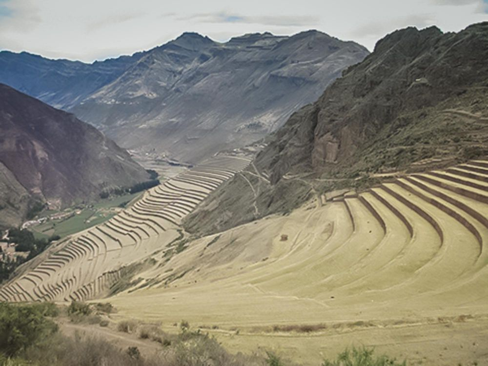 Pisac's fortress protects the eastern end of the Sacred Valley