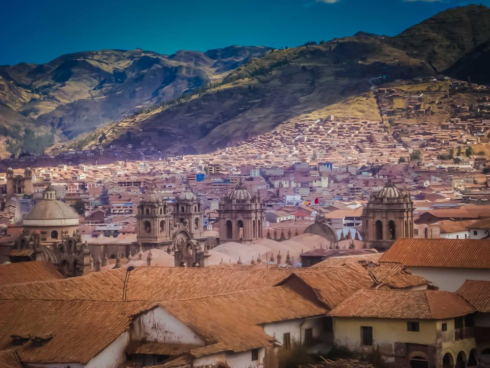 Cusco's world-heritage protected roofscape