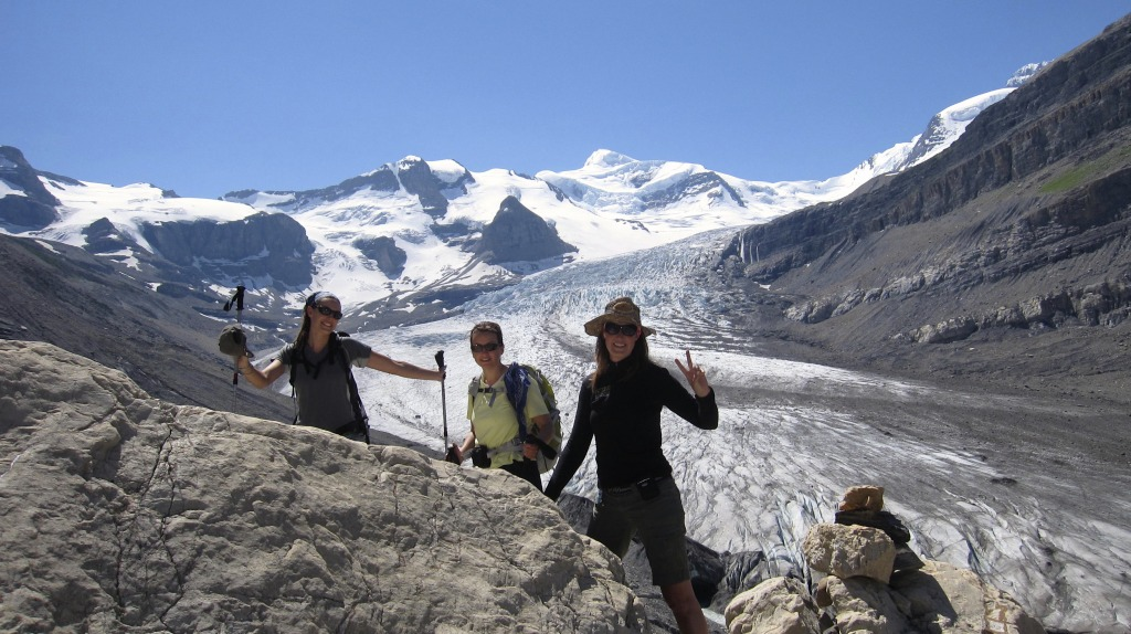 Hiking Snowbird Pass in Mt Robson Provincial Park