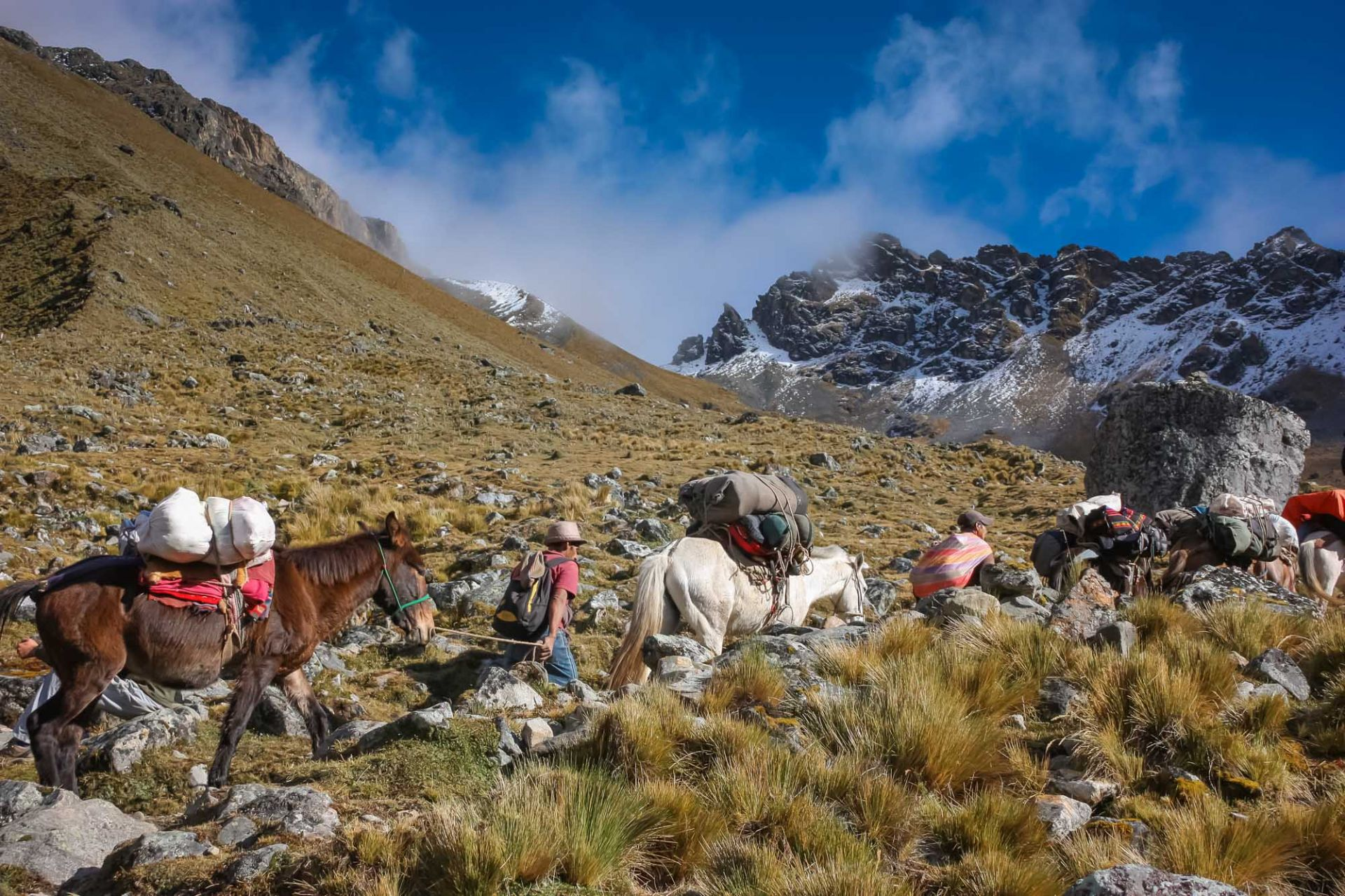 Hiking the Salkantay Trek in Peru
