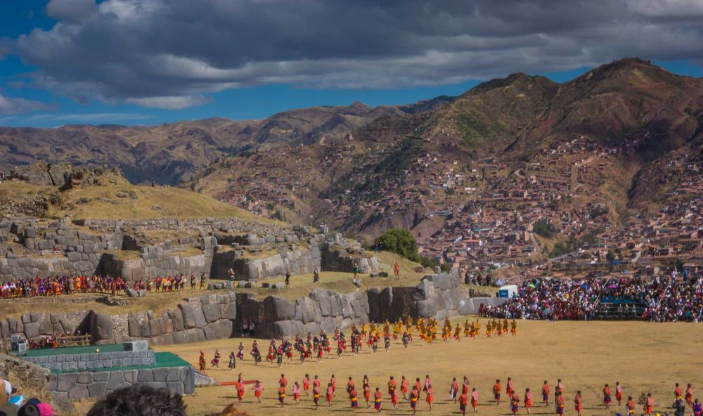Enjoy Inti Raymi's afternoon ceremonies at Sacsayhuaman from great seats